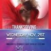 THANKSGIVING BASH @ MYSTUDIO 11-21-12