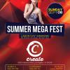 SUMMER MEGA FEST @ CREATE HOLLYWOOD 09-06-15